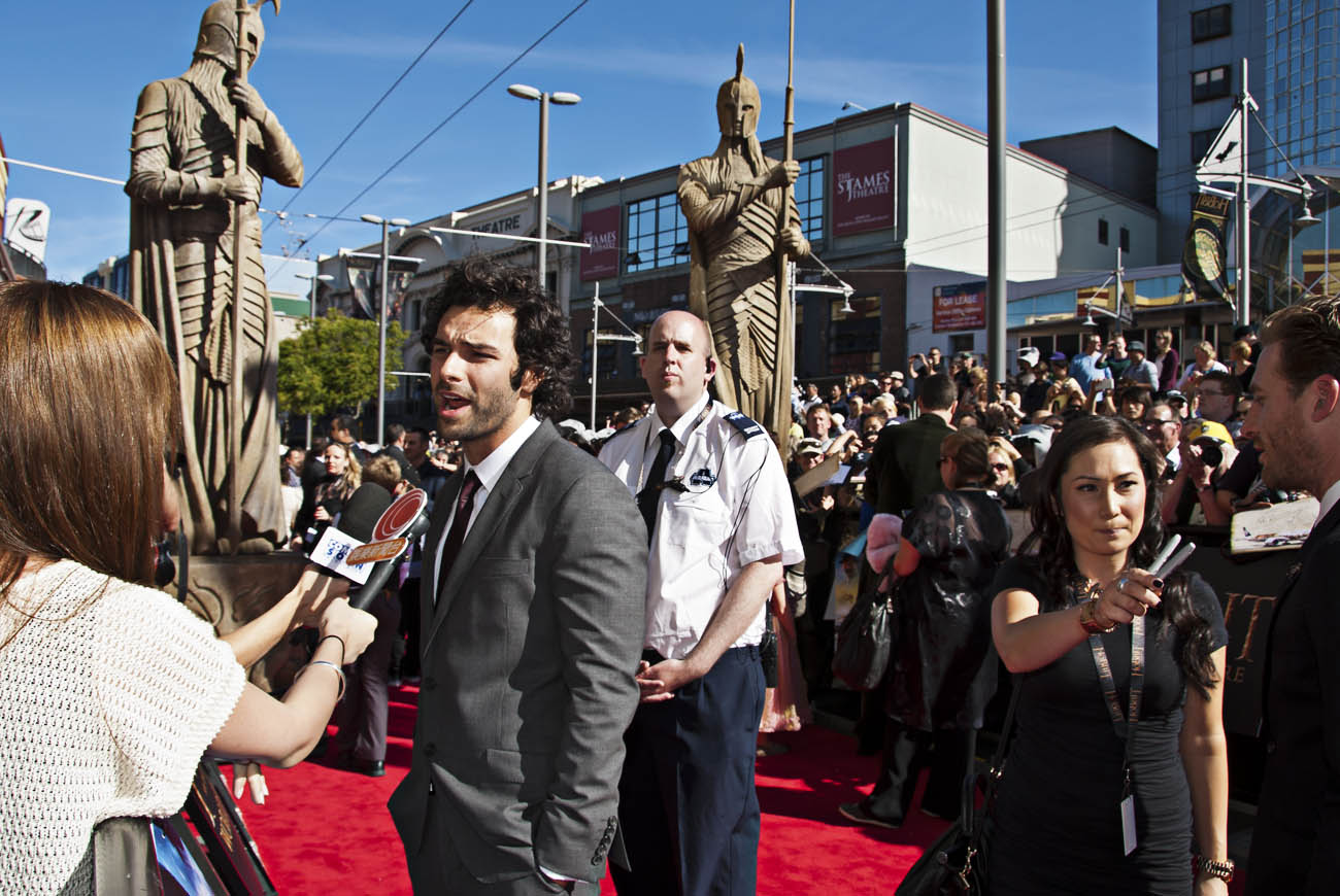 Aidan-Turner-Hobbit-Premiere-Event-Photo-Wellington-NZ-Photographer-Kevin-Hawkins