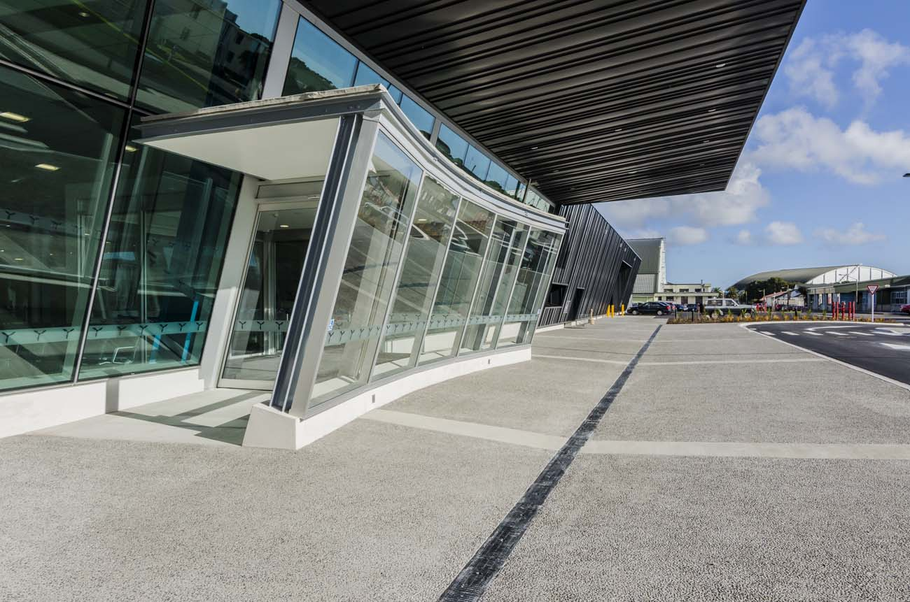 Air Terminal Architecture Photo Wellington-NZ Photographer-Kevin-Hawkins