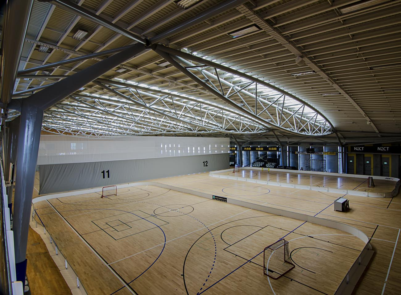 Wellington NZ Architecture Photographer Kilbirnie ASB Sports Centre Photo