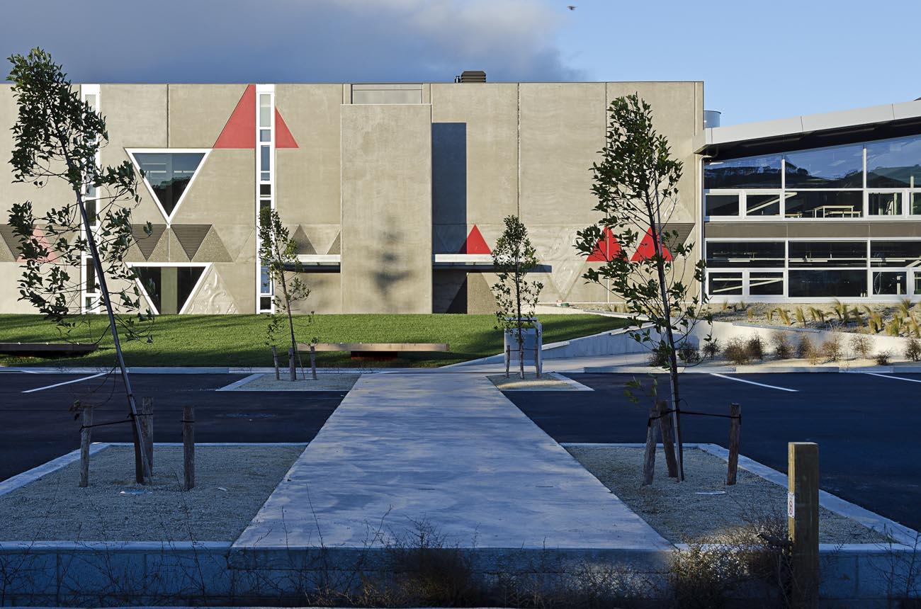 Architecture Photography Image Whitireia Polytech Wellington NZ Photographer Kevin Hawkins