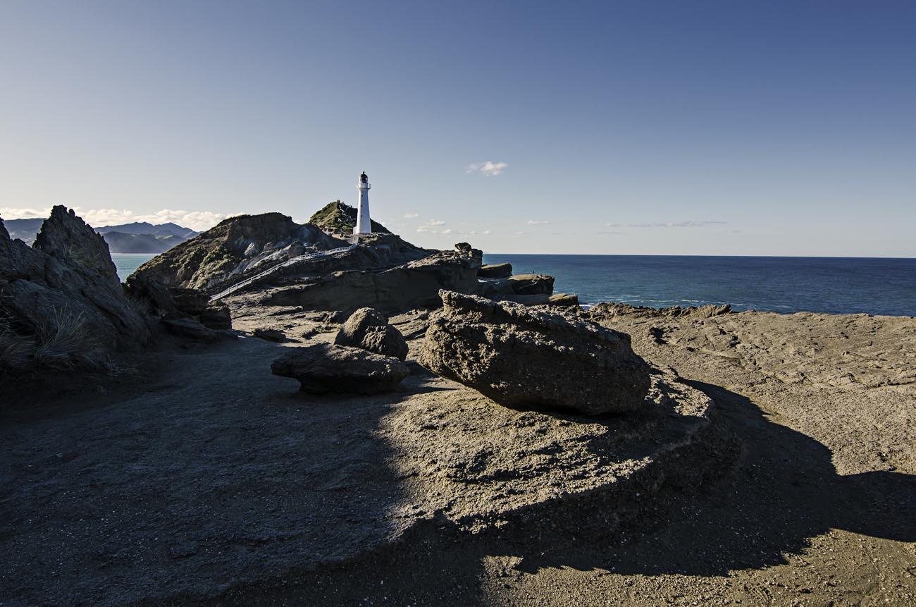 Castlepoint Lighthouse Stock Photo Wellington-NZ-Landscape-Photographer Kevin Hawkins