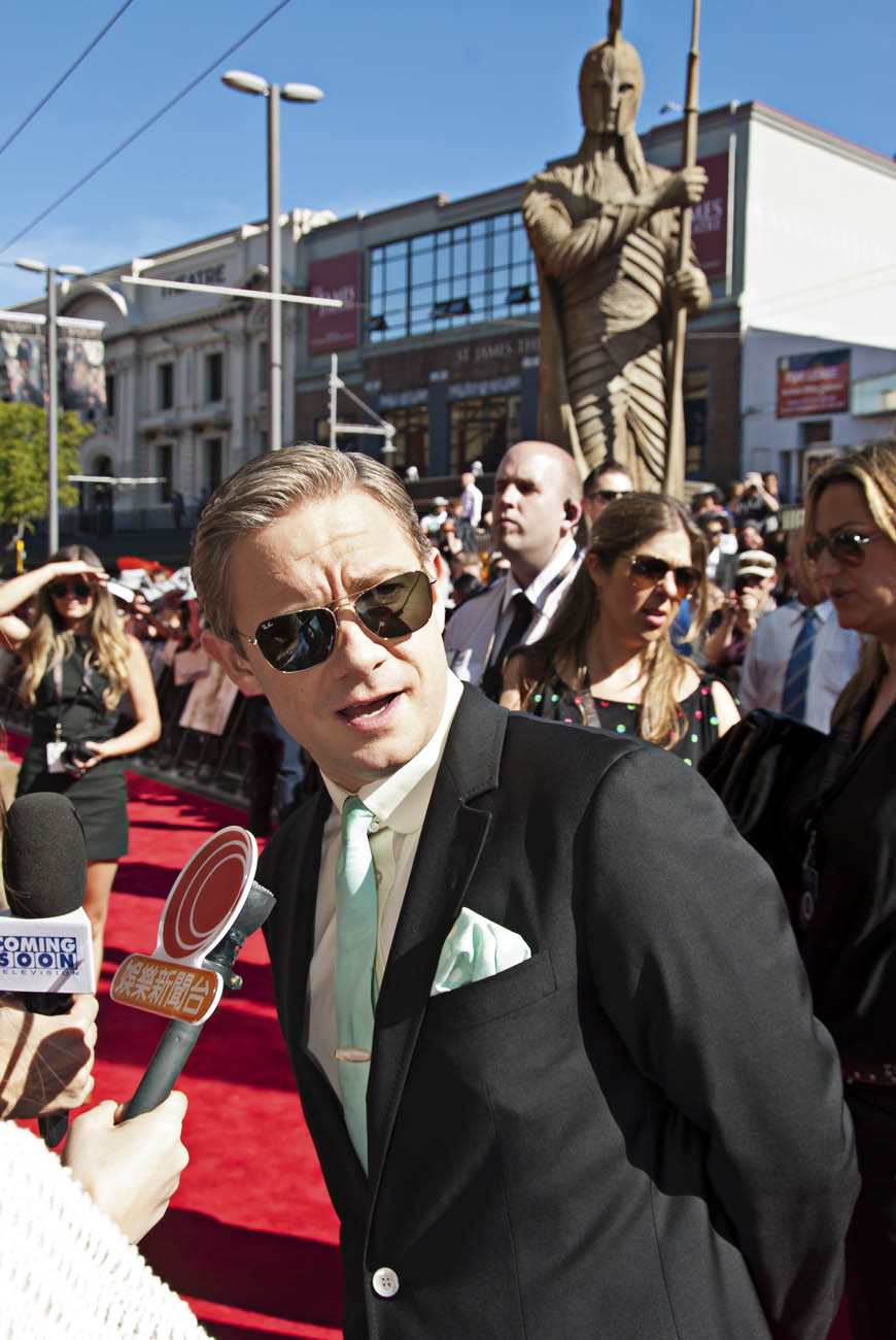 Martin-Freeman-Hobbit-Star-World-Premiere-Event-Photo-Wellington-NZ-Photographer-Kevin-Hawkins-