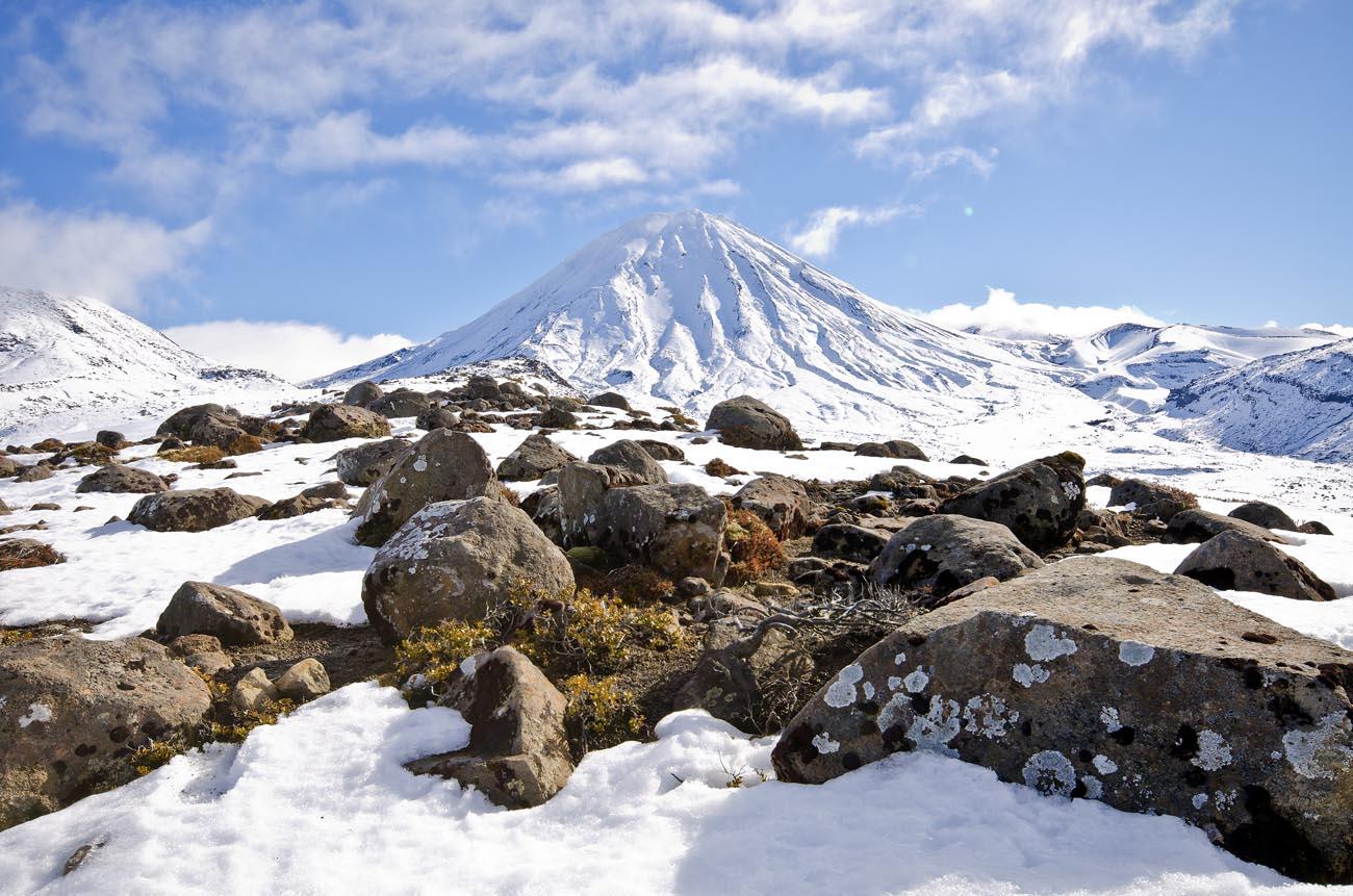 Mt Ngauruhoe Snow Wellington NZ Landscape Photographer Kevin Hawkins_DSC1131