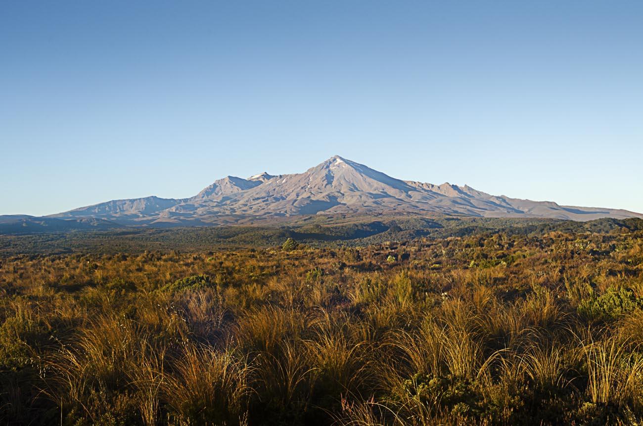 Mt Ruapehu Spring Morning Wellington NZ Landscape Photographer Kevin Hawkins