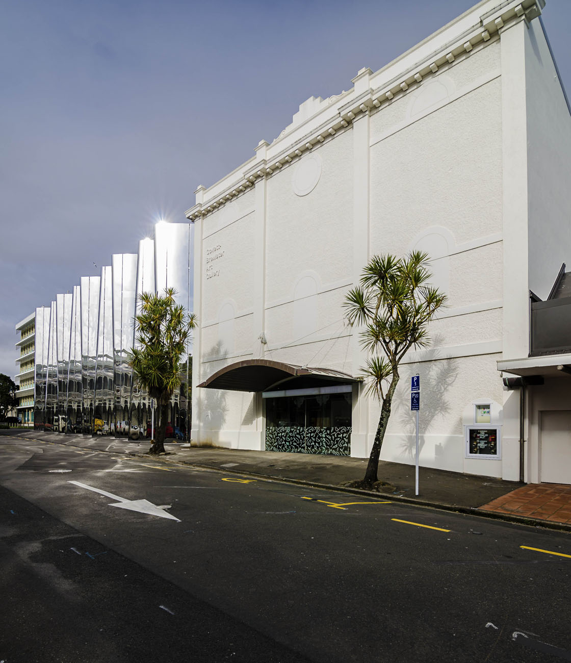 Wellington-NZ-Architecture-Photographer-Kevin-Hawkins Len-Lye-Centre--Exterior Photo